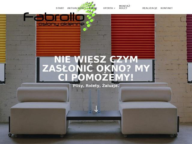 http://fabrollo.pl/rolety-rzymskie/